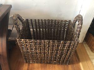 Wicker basket for Sale in Lynn, MA