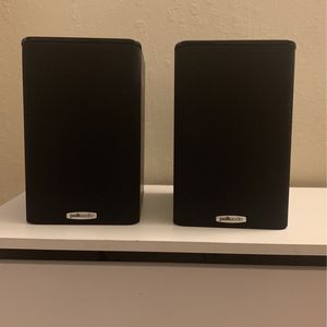 Polk audio TSi100 Black Bookshelf Speakers for Sale in Walnut Creek, CA