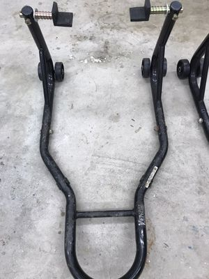 Venom front and rear motorcycle stands for Sale in Los Angeles, CA
