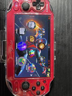 Red Ps Vita 128gb Modded for Sale in La Puente,  CA