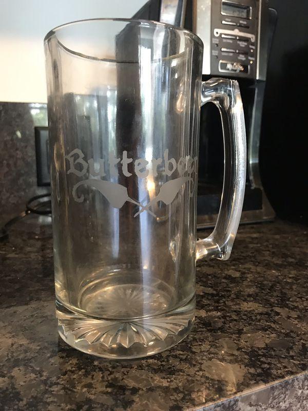 """FREE- Harry Potter """"Butterbeer"""" engraved mug"""