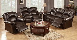 3pc sofa recliner for Sale in Las Vegas, NV