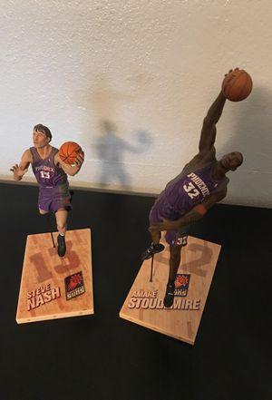 Steve Nash Amare Stoudemire action figures for Sale in Phoenix, AZ