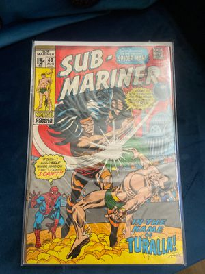 Sub-Mariner 40 Marvel comic for Sale in Irwindale, CA