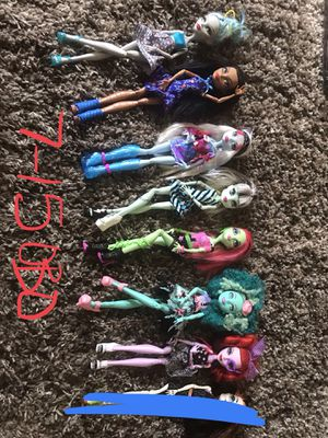 Discontinued Monster High Dolls. PERFECT FOR CHRISTMAS for Sale in West Jordan, UT