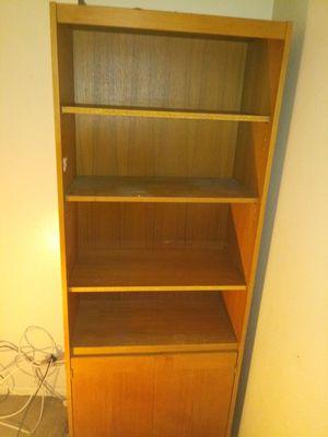 Wood bookshelf for Sale in El Cajon, CA