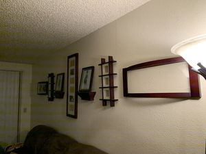 Picture frames/2 frame shelves for Sale in Tacoma, WA
