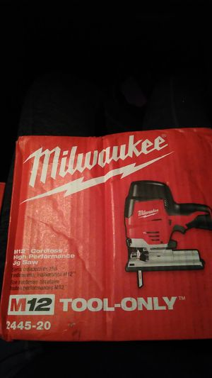 Milwaukee jig saw for Sale in Elk Grove, CA