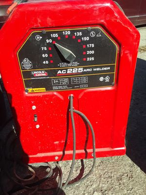 Lincoln electric arc welder * model# ac-225 for Sale in Detroit, MI