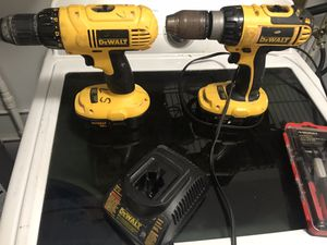 Dewalt 18v drills for Sale in Ruskin, FL