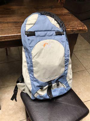 Lowe alpine hiking backpack contour air 25 day pack waist strap, adjustable size for shoulder straps 25 liter for Sale in Phoenix, AZ