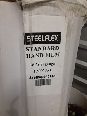 A standard plastic stretch wrap packaging material for Sale in Spokane Valley, WA