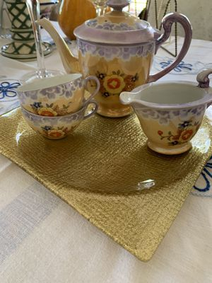 Vintage tea set 4 piece for Sale in Miami, FL
