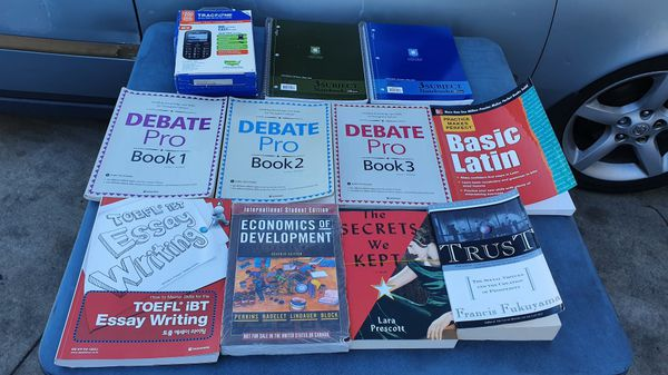 Assorted Textbooks (half NEW & half USED)