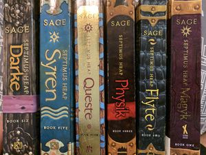 Septimus Heap Complete Book Series (LIKE NEW CONDITION) for Sale in Spring Valley, CA