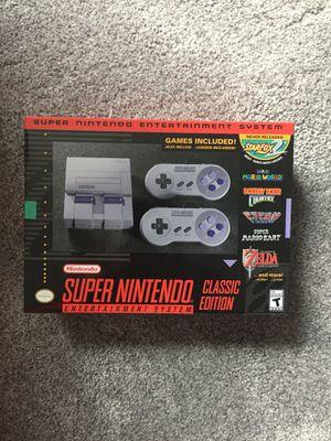 Nintendo SNES Classic Mini for Sale in Sandy Springs, GA