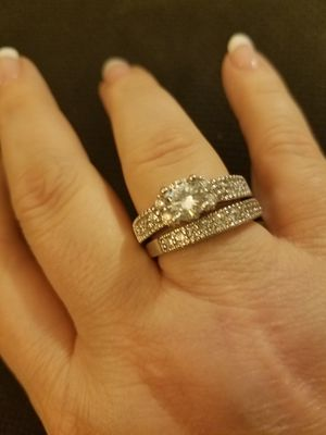 Sterling Silver Wedding Set for Sale in Knoxville, TN