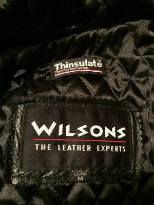 Authentic Wilson Leather Coat for Sale in Sanger, CA