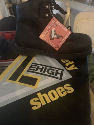 Lehigh Shoes. Working Boots. Size 8. Brand new Never Worn for Sale in Uniondale, NY