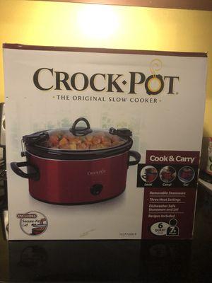 Crock Pot 6Quart for Sale in Puyallup, WA