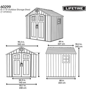 Lifetime Tool shed for Sale in Los Angeles, CA