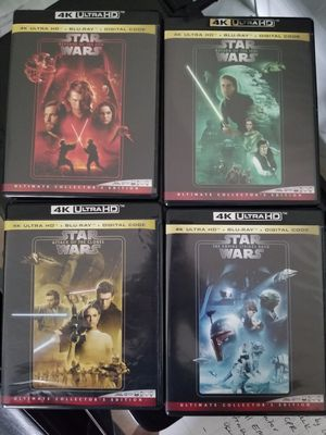 Star Wars movies. ULTRA HD BRAND NEW for Sale in Seattle, WA