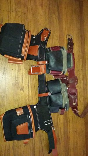 2 occidental leather s pouch s for Sale in San Pablo, CA