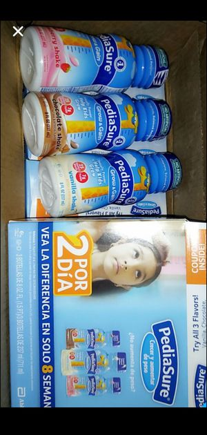 Pediasure/18, 8oz bottles for Sale in Los Angeles, CA