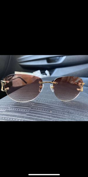 Men's official Cartier shades for Sale in Washington, DC