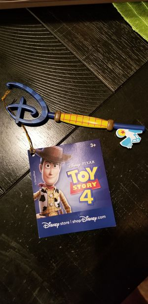 Disney Store Toy Story 4 key for Sale in Frisco, TX