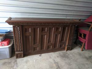 Antique pavilion bar for restoration or repair for Sale in New Bedford, MA