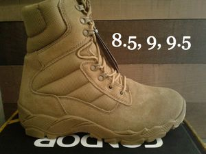 "New Men's Condor 8"" Tactical Boots, Coyote for Sale in Lake Forest, CA"