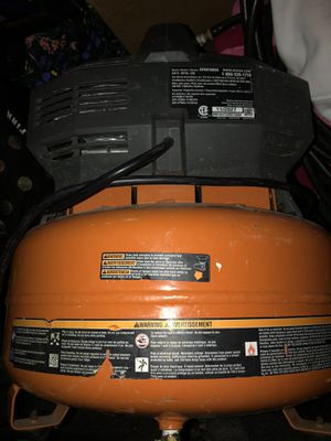 Ridged Air Compressor for Sale in Kansas City, KS