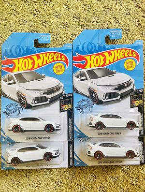 Hot Wheels Honda Civic Type R for Sale in Irvine, CA