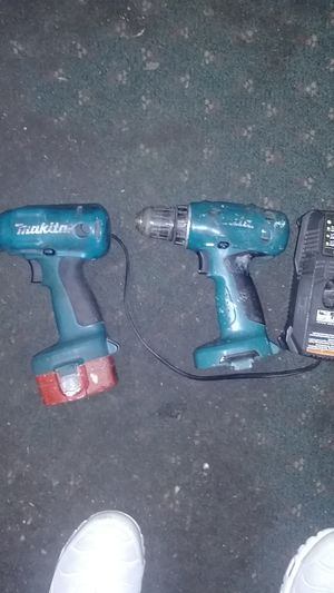 Makita hand power tool drill which charger for Sale in Mobile, AL