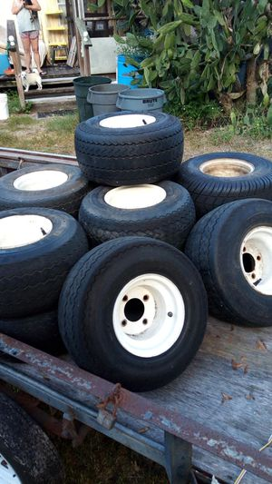 Good used golf cart tires for Sale in Hudson, FL