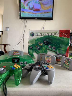 Nintendo 64 Jungle in original Packing for Sale in Compton, CA