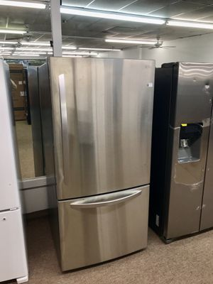 ☃️$39 Down🎅 Brand New Stainless Steel LG Bottom Freezer Refrigerator for Sale in Houston, TX