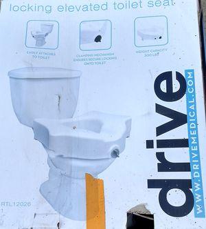Handicap raised toilet seat for Sale in San Diego, CA