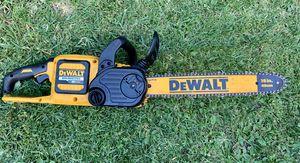 DEWALT 16 in. 60-Volt MAX Lithium-Ion Cordless FLEXVOLT Brushless Chainsaw for Sale in Azusa, CA