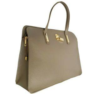 Genuine Italian Leather Top Handle Satchel Shoulder Tote Bag for Sale in Miami, FL