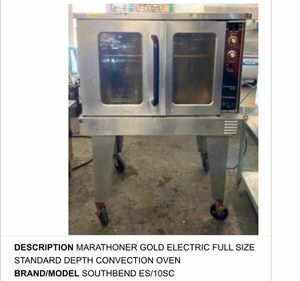 Commercial Oven & Refrigerated Sandwich Prep Table for Sale in St. Louis, MO