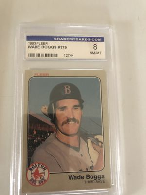 1983 fleer wade Boggs for Sale in Lowell, OH