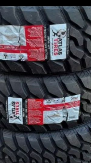 LT 285/70R17 [3] NEW ATLAS M/T TIRES pick up ONLY!! for Sale in Los Angeles, CA