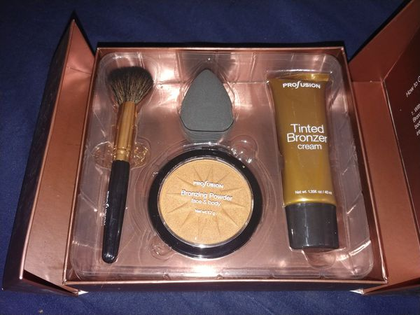 Profusion complete face & body bronzer kit set NEW