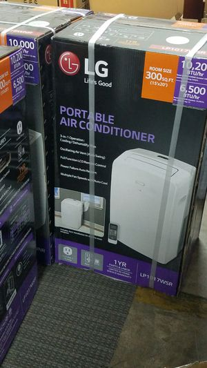 LG 10000 BTU portable air conditioner $39 down for Sale in Fort Worth, TX