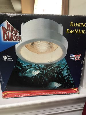 Night Blaster fishing light for Sale in Fairless Hills, PA
