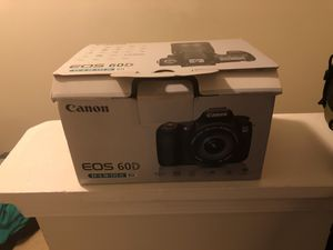 Canon 60D EF-18-135 Kit for Sale in Herndon, VA