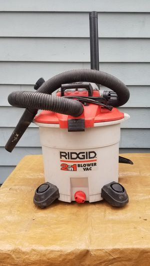 Shop Vac, Rigid Brand ~ Unit Pre-owned, in Excellent Working/Cosmetic Conditon for Sale in Wauconda, IL