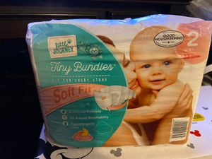 Pampers & Little journey Diaper bundle for Sale in Garden Grove, CA